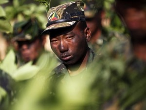 Shan State Army is one of the biggest rebel armies in Myanmar