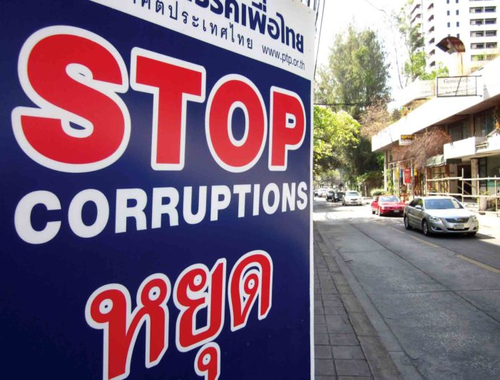 Graft and Corruption a Great Loss for the Country