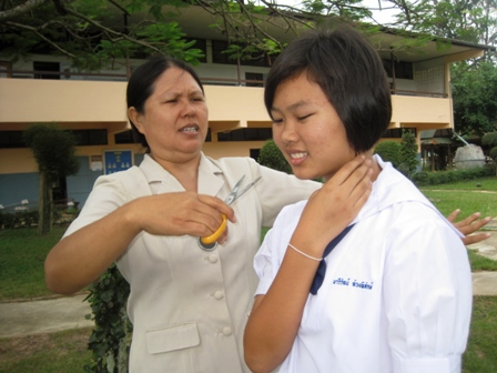 Thai students look set for some hair-raising changes soon