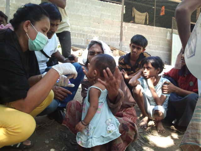 Over 1,300 Rohingyas Seeking Aid in Thailand