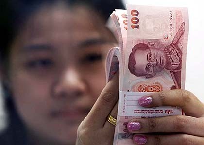 Thailand Finance Minister Concerned about Rising Baht