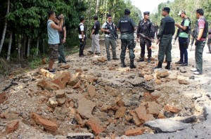 Thailand's armed forces have been fighting rebel groups in the south of the country