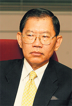 Vicha Mahakun, a member of the National Anti-Corruption Commission and a former Supreme Court judge