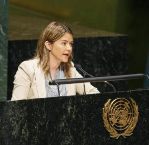 Special Rapporteur Catarina de Albuquerque. UN Photo/JC McIlwaine