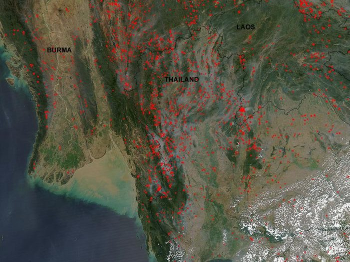 Minister Says Use Satellites to Watch Hotspots in Northern Thailand