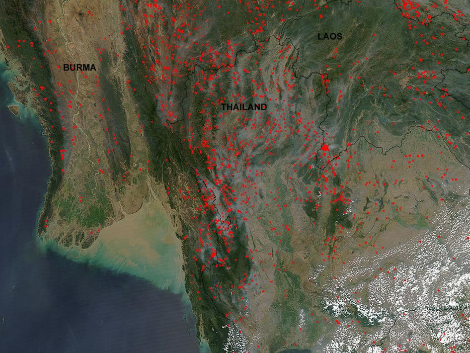 He said satellite imagery was the most accurate tool to detect bushfire hotspots