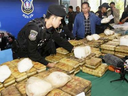 Chiang Rai Police Arrest 3 Hmong Men with 1.2 Billion Baht Worth of Drugs