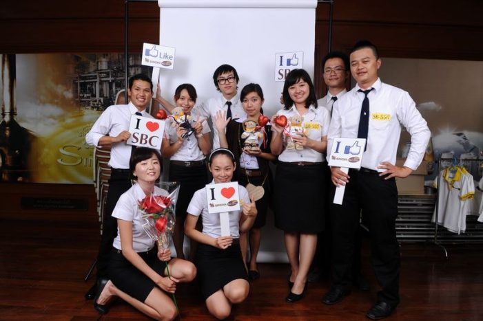 Mae Fah Luang University Students Selected to attend Singha Biz Course as Management Interns