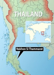 The British student, 20, was gang-raped in Nakhon Si Thammarat, southern Thailand