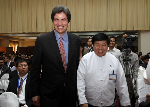 U.S. Assistant Secretary of State Caught in Awkward Embrace with Blacklisted Myanmar Businessman