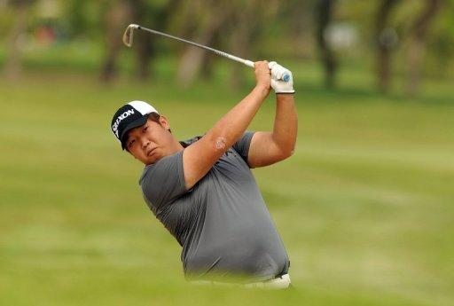 Baek Seuk-Hyun of South Korea Top of the Leaderboard at Chiang Rai's 14th Singha Masters
