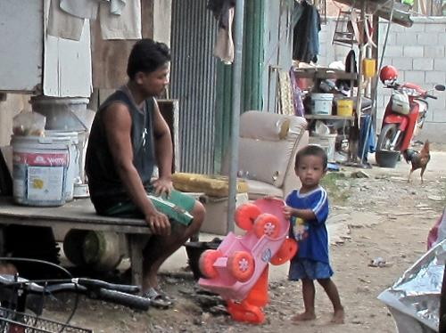 "While the great majority of Thai people have experienced rapid development, millions of people, including stateless people and undocumented migrant workers, have not reaped these benefits,"" she said."