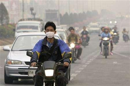 Department's monitoring of the haze problem in Thailand's North