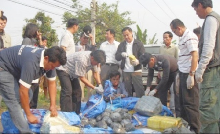 30 Kg of Methamphetamine Drugs Seized in Chiang Rai