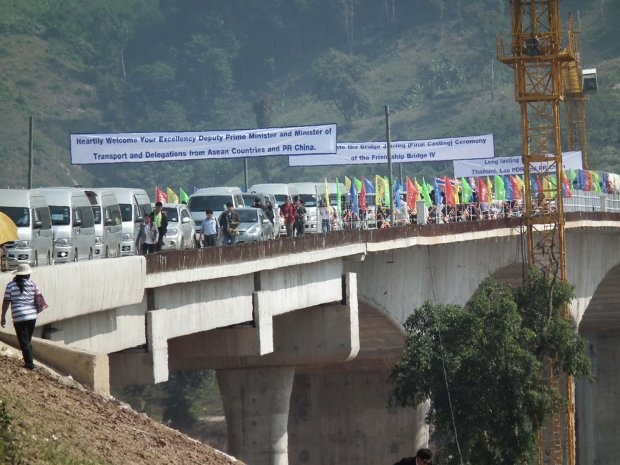 The Chiang Rai Friendship bridge will open in around four months