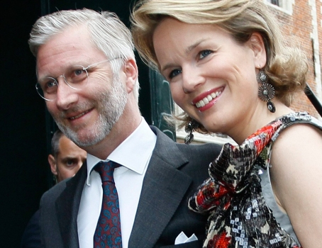 Prince Philippe and Princess Mathilde of Belgium to Visit Their Majesties the King and Queen