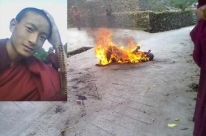 Young monk dies of self immolation