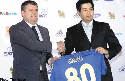European Champions Chelsea to use Thailand as Launch Pad