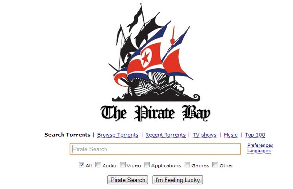 The Pirate Bay Moves to North Korean Servers