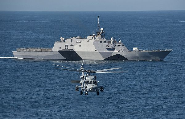 U.S. Navy, the USS Freedom littoral combat ship