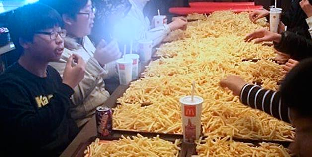 Asia Teens Jump on French Fry 'Potato Party' Trend
