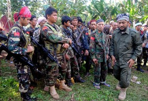 militants, who say they are followers of a claimant to the defunct Sultanate of Sulu.