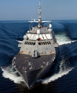 USS Freedom is the lead ship of the Freedom class of littoral combat ships. She is the third vessel of the United States Navy to be so named for the concept of freedom.