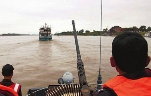 Laotian Anti-Narcotics Agents Seize Boat with 22 Million Metamphetamine Tablets in Golden Triangle