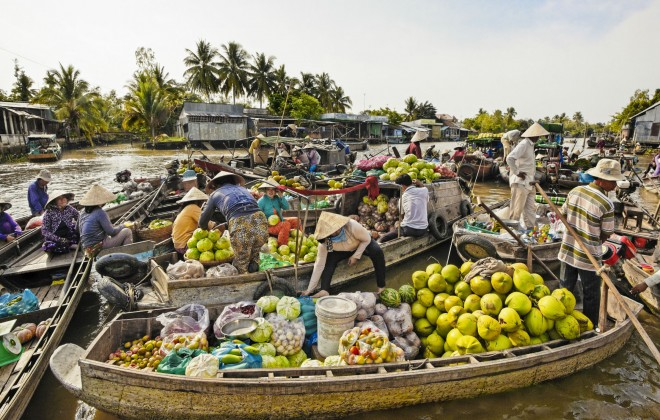 Climate Change Will Harm Mekong Basin Harvests
