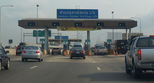 Travellers will also be exempt from paying tolls on the Bangkok-Chon Buri motorway and the Bang Pa-in-Bang Phli outer ring road for seven days.