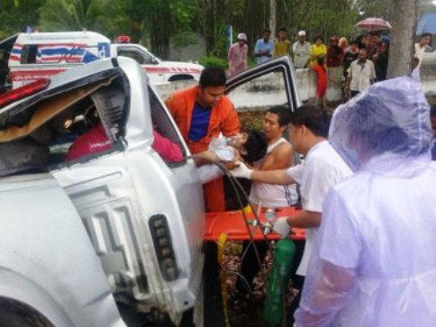 """Songkran's """"Seven Dangerous Days"""" 4th Day Toll  1,897 Road Accidents ,18 Deaths and 2,020 Injuries"""