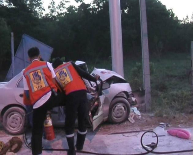 "Songkran's ""Seven Dangerous Days"" 5th Day Toll 255 Motorists Have Been Killed and 2,439 Injured"
