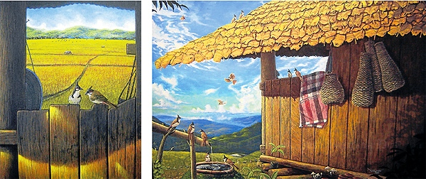 "Chiang Rai's 9 Art Gallery Presents – Journey & Peaceful Life"", an Exhibition by Jakkrit Moonta-in"