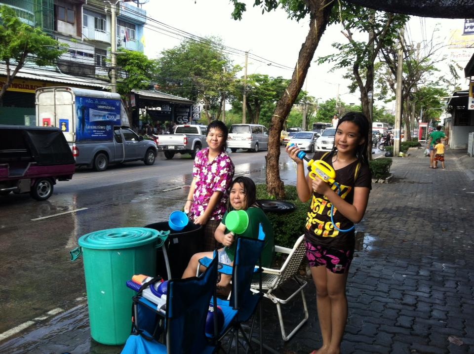 Songkran Festival is the most traditional celebration in Thailand