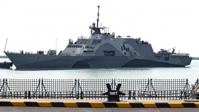 USS Freedom Arrives in Singapore for Southeast Asian Stint