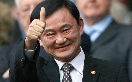 Thaksin Tweets from Dubai after April Fools Rumors he Died in an Car Accident in Dubai