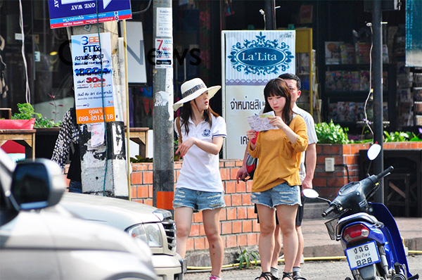 Chinese tourists spend an average of Bt3,500-4,000 per person during their stays in Thailand