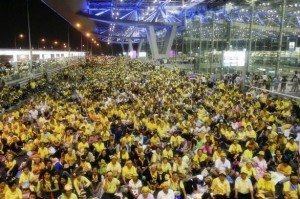 2008 rallies that paralysed Thailand's main airports, stranding thousands of tourists.