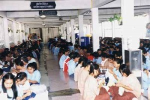Central women's prison in Chiang Rai over crowded