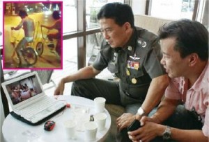 "Pol.Maj.Gen. Chamnarn said that the video of the gang members dancing naked to ""Harlem Shake"" was taken in a hotel in Pattaya, and the other videos were filmed in Chiang Mai."