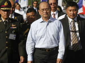 President Thein Sein's departure for a state visit to the United States