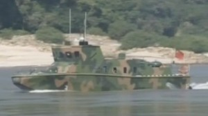 New Stealth Mekong River patrol Boat in China