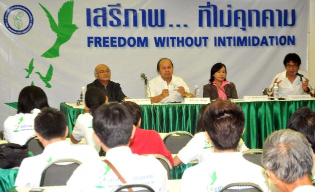 """Media Must Play a Greater Role in Thailand – """"Freedom without Intimidation"""""""