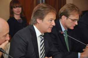 Right Honourable Hugo Swire, UK Minister of State for Foreign and Commonwealth Affairs