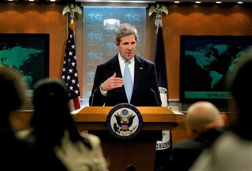 We have an enormously broad security relationship Kerry said.