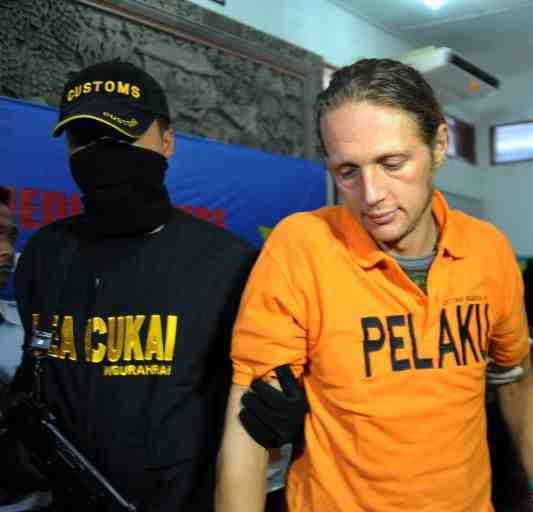 German Martin Moller Gets 5 Years for Entering Bali with 300 Grams of Hashish