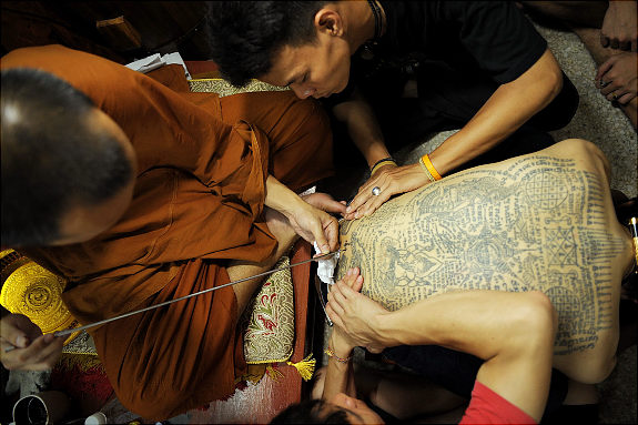 "Thailand's Magical Tattoos ""Sacred Ink"" Cedric Arnold"