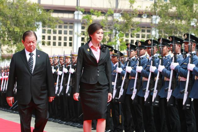 Prime Minister Yingluck Shinawatra to Head the Defence Ministry