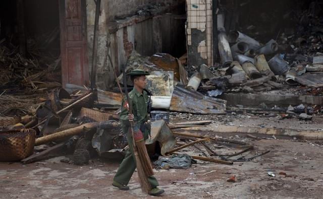 Radical Buddhist Fuel Violence against Myanmar's Muslims