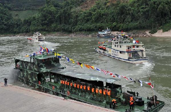 China Says Joint Mekong River Operation with Thailand, Laos and Myanmar, Seized $400M of Drugs